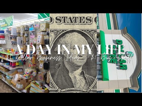 🌲 $1 BUSINESS IDEAS + Dollar Tree Business MUST HAVES | $1 BUSINESS SUPPLIES | DOLLAR TREE HAUL |
