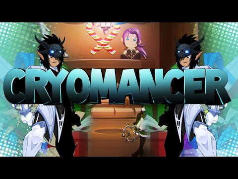 AQW - How to Use Cryomancer Class