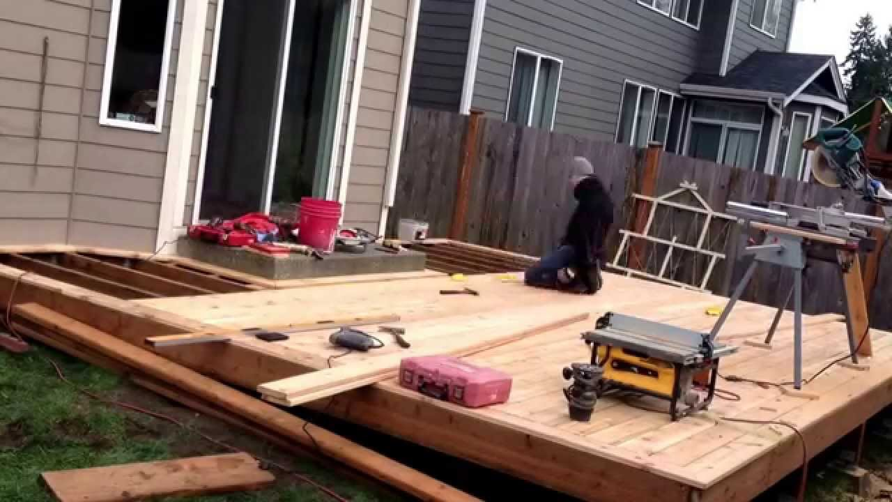 Home Depot Cedar Deck Boards Installng 5 4