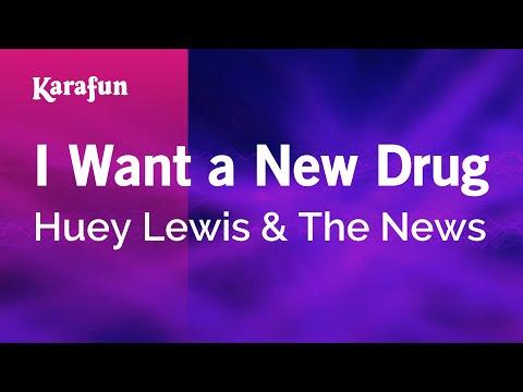 Karaoke I Want a New Drug - Huey Lewis & The News *