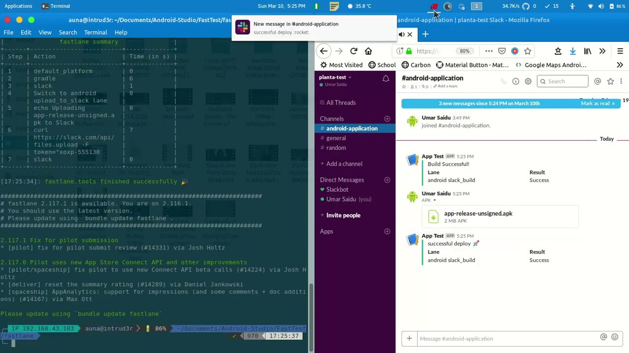 Fastlane the Right way with Android and Slack