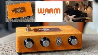 Warm Audio / Foxy Tone Box Guitar Fuzz Pedal Review & Unboxing