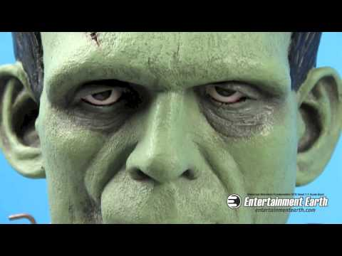 Universal Monsters Frankenstein VFX Head 1:1 Scale Bust - Free Shipping