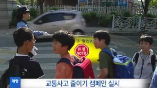 9월 5주_시민단체와 연계한 교통사고 줄이기 캠페인 실시 영상 썸네일