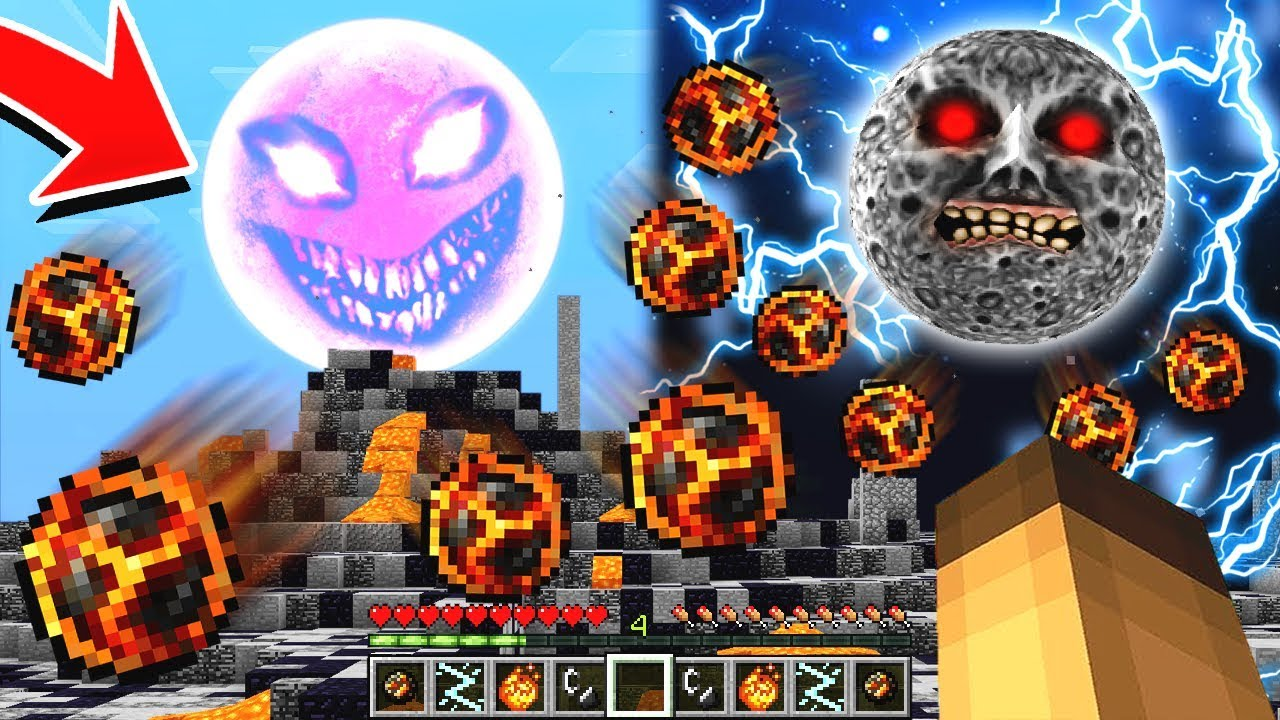 how to make a red sun in your minecraft world