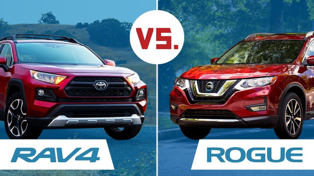 Nissan Rogue Vs Toyota Rav4 >> Nissan Rogue Vs Toyota Rav4