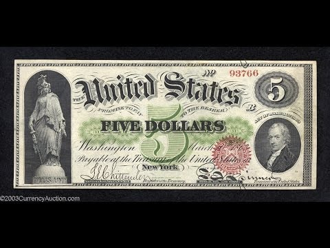 The Civil War Legal Tender Acts (1862-1865): A Revolution In