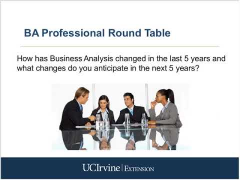 Business Analyst Professional Round Table Discussion  (12/4/2013)