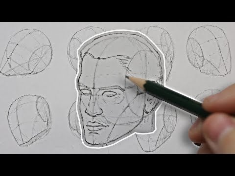 drawing-the-head-from-any-angle!-basic-construction-explained
