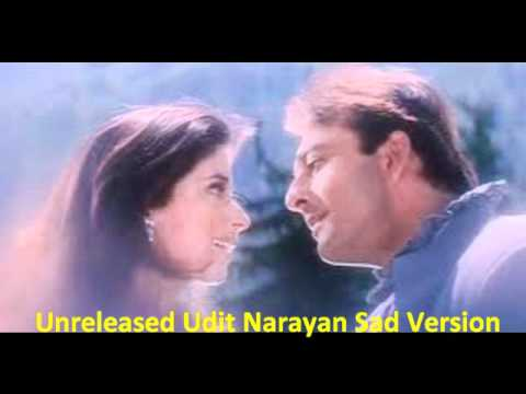 Hindi Sad Song - Mera Ek Sapna Tha | Udit Narayan & Anuradha | Jatin Lalit