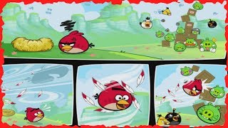Angry Birds - Red's Mighty Feathers Mobile Game Walkthrough