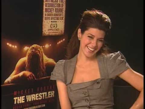 "Marisa Tomei Interview for ""The Wrestler"""