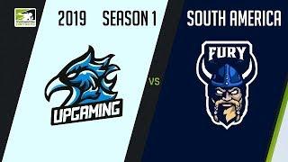 [POR] UP Gaming vs FURY (Part 1) | OWC 2019 Season 1: South America