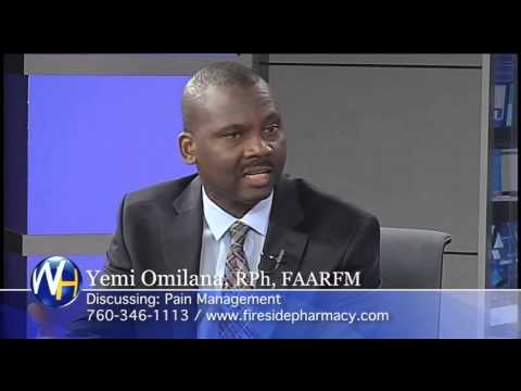 Pain Management with Yemi Omilana, Rph, FAARFM Palm Springs Compounding Pharmacist