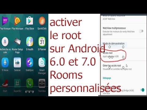 Comment rooter téléphone sous Android 6 ou 7 , ROM personnalisée ...