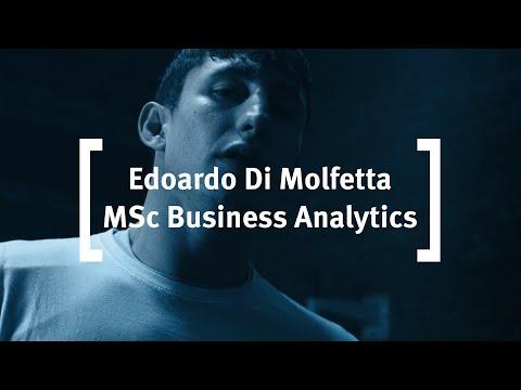 Cass Business School: Edoardo Di Molfetta - MSc Business Analytics