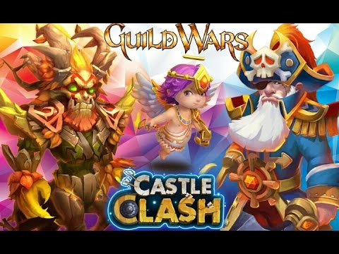 Castle Clash: Guild Wars With Mino! Supporting Heroes!