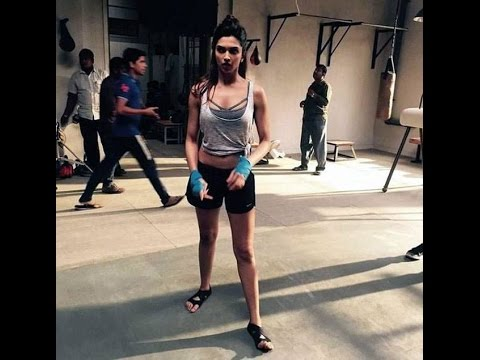 Deepika Padukone's amazing Workout in hollywood