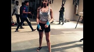 Download Video Deepika Padukone's amazing Workout in hollywood MP3 3GP MP4