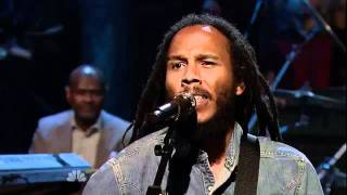 Ziggy Marley - Get Up, Stand Up 5/9/11 Jimmy Fallon LateNite