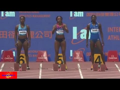 Men's & Women's 100m / 200m Finals - Shanghai  Diamond league  MAY 2017