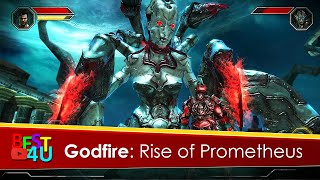 Godfire: Rise of Prometheus Gameplay! iphone game trailer (Android & iOS) #1