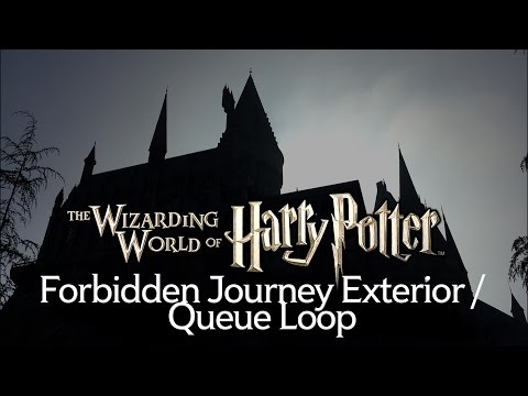 Forbidden Journey Exterior Music Loop - Wizarding World of Harry Potter