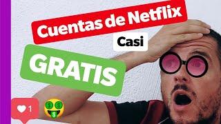 Cuenta de Netflix Casi GRATIS LEGAL FUNCIONA 2018