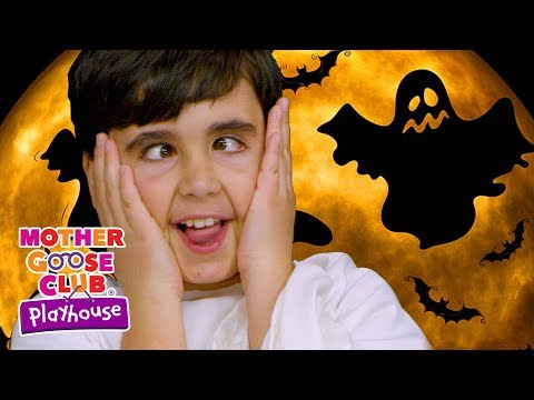 👻 Ghost Family   Mother Goose Club Playhouse Simple Songs Children   Scary Halloween Songs for Kids