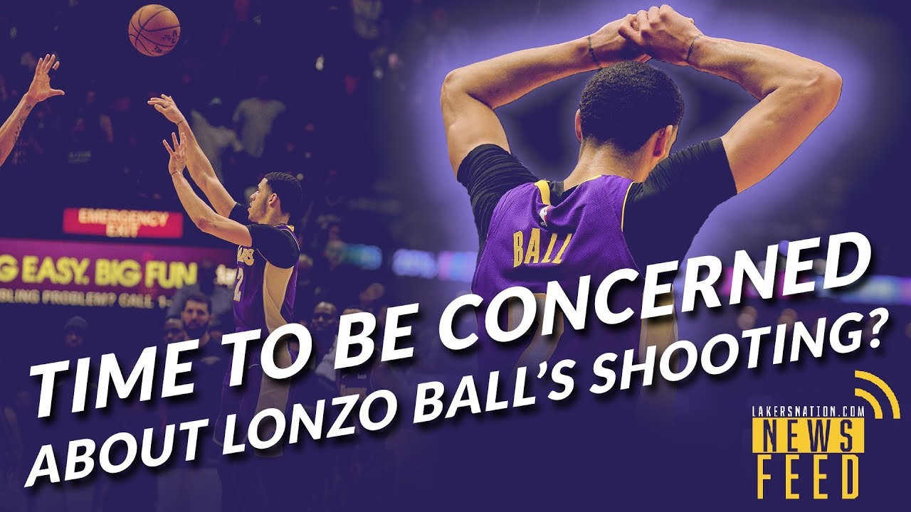 Lakers news feed what 39 s up with lonzo ball 39 s shot youtube for What s in a melon ball drink