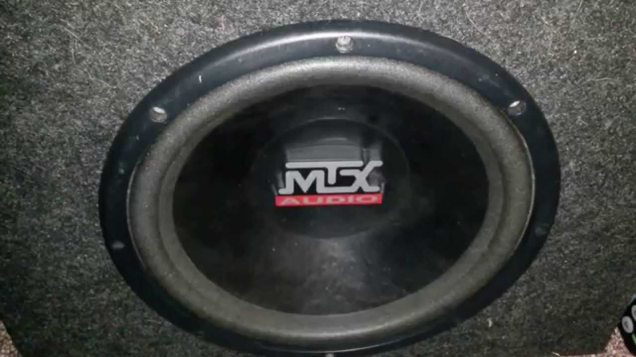 My new mtx audio thunder 4000 subwoofer youtube publicscrutiny Images