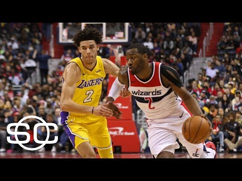 John Wall outperforms Lonzo Ball in rematch  | SportsCenter | ESPN