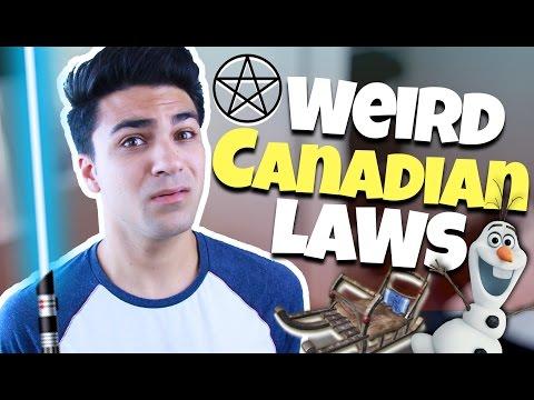 THE WEIRDEST LAWS IN CANADA | Daniel Coz