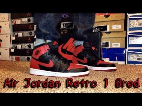 best quality buy order online Air Jordan OG High Retro 1 Bred Review & On Feet