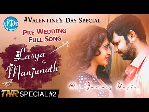 Anchor Lasya & Manjunath Pre-Wedding Full Song | TNR's Special #2 | #ValentineDaySpecial