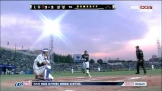 20110508 LG 조인성 시즌 7호 홈런