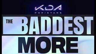 [1 HOUR] K/DA - POP/STARS, THE BADDEST, MORE (LOOP 1 hour HD)
