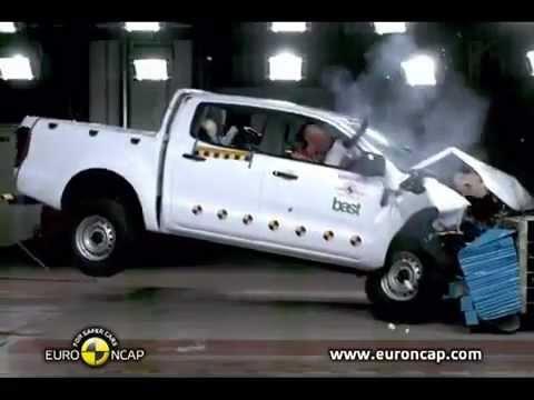 Ford Ranger T6 EuroNCAP Crash Tests