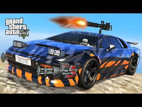 GTA 5 - $1,750,000 ARDENT GUN RUNNING DLC SPENDING SPREE!! (