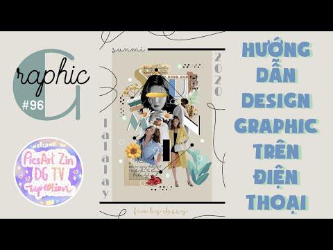 #96 [PicsArt]: Hướng Dẫn Design Graphic Trên Điện Thoại  Kpop edit  By Zin DG