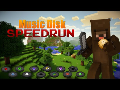 Minecraft Xbox - Music Disk SPEEDRUN