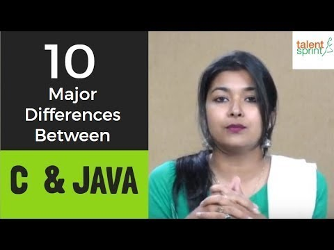 10 Major Differences Between C And JAVA | IT Technical Interview Tips | TalentSprint