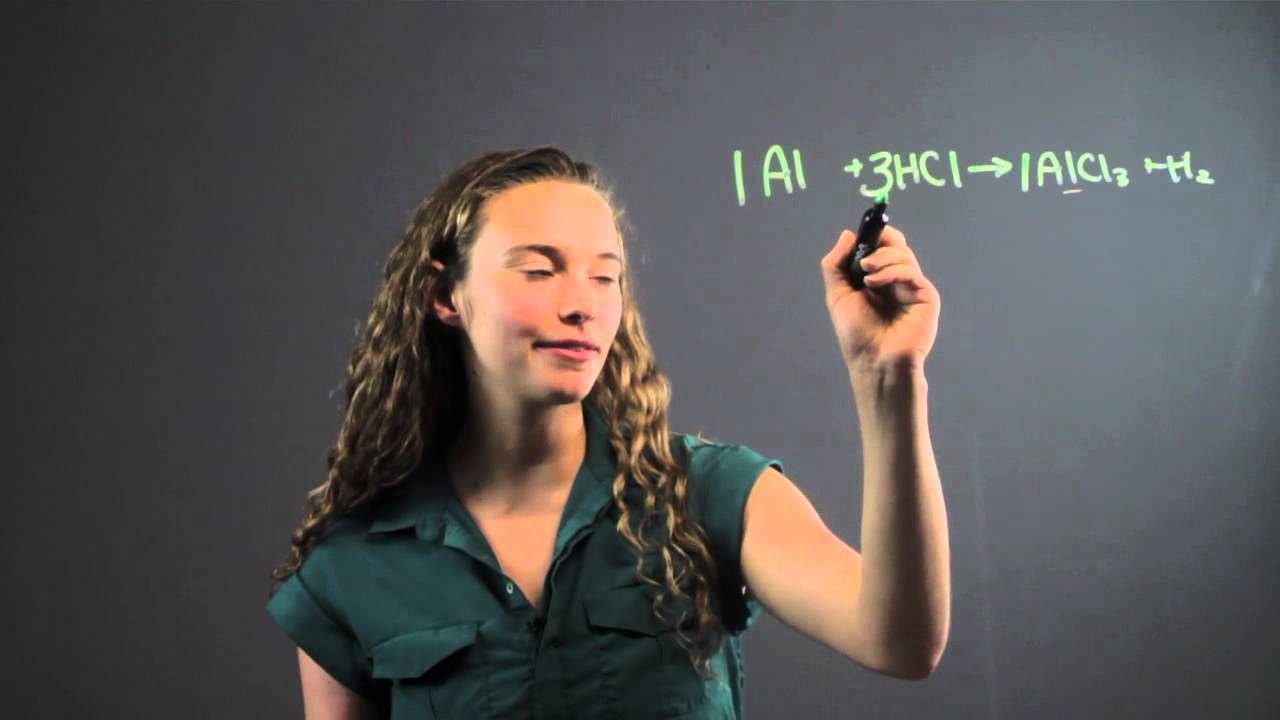How to Balance a Chemical Equation by Multiplying by the Denominator : Math Equations & More image