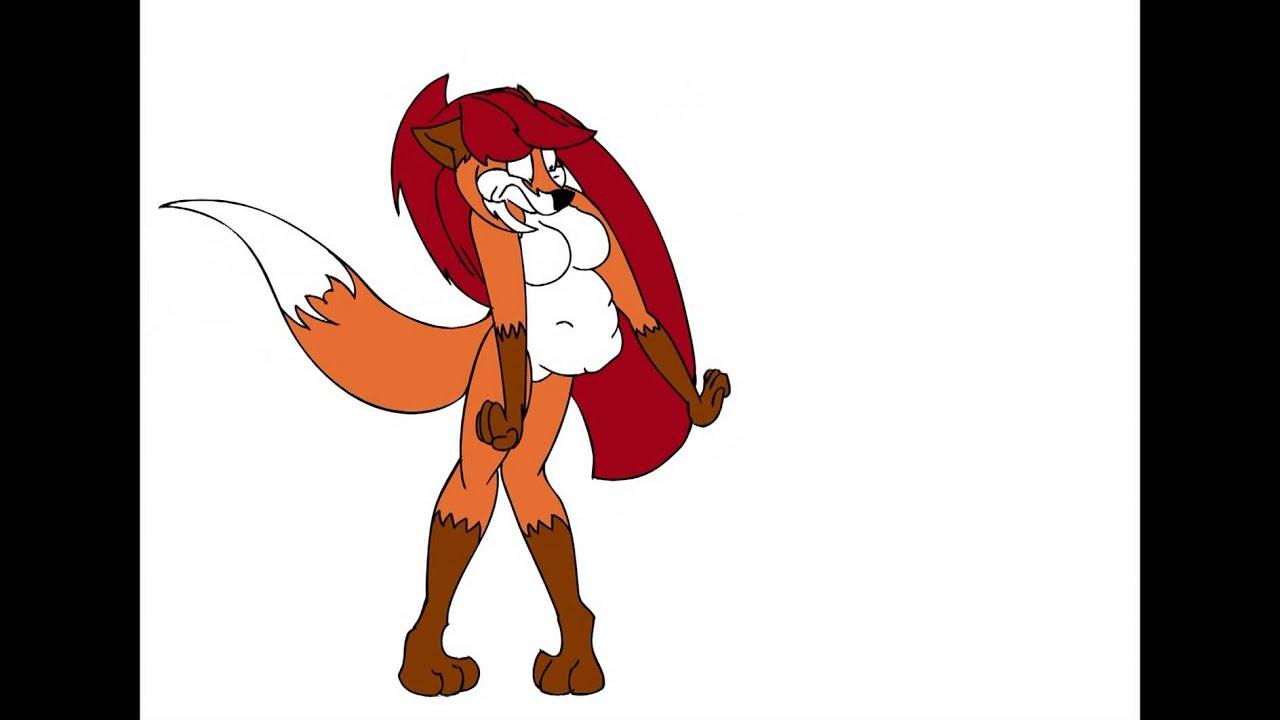 Fox Girl Vs. Stomach