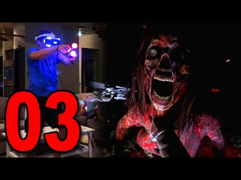 Until Dawn: Rush of Blood - Part 3 - WORST JUMP SCARE YET (Playstation VR Gameplay)