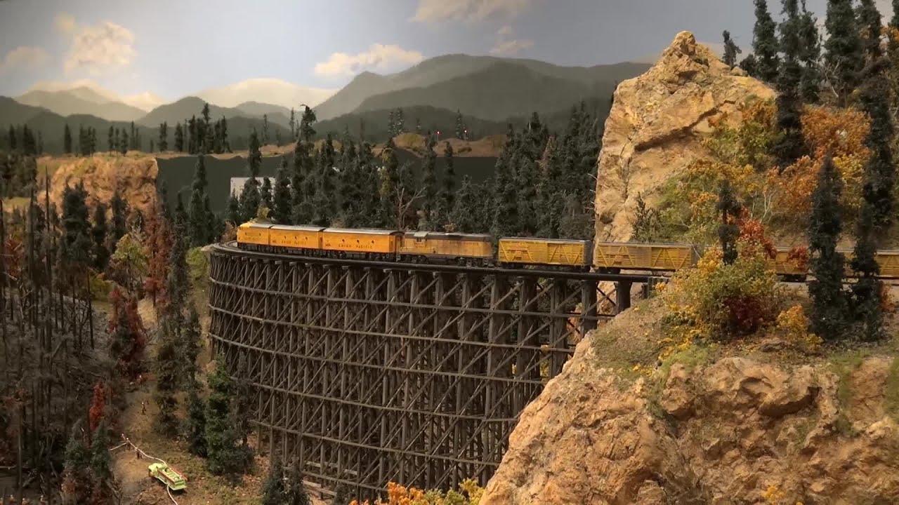 Union Pacific Cattle Train At The Colorado Model Railroad