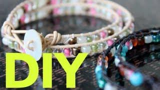 Easy & Simple DIY - Chan Luu Inspired Wrap Bracelet