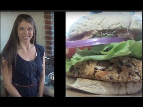 Artistic Vegan Makes Awesome Burgers & Cookies!! Talks Diet & Autism