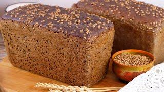 Легендарный Бородинский хлеб на закваске Домашний заварной ржаной хлеб на закваске