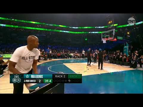 NBA 3-POINT CONTEST - 3 POINT LEGENDS (Allen, Curry, Price, Rice)